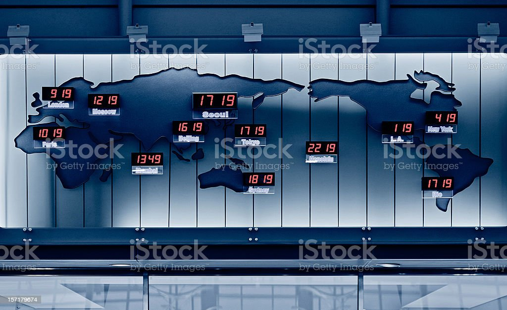 World Time stock photo