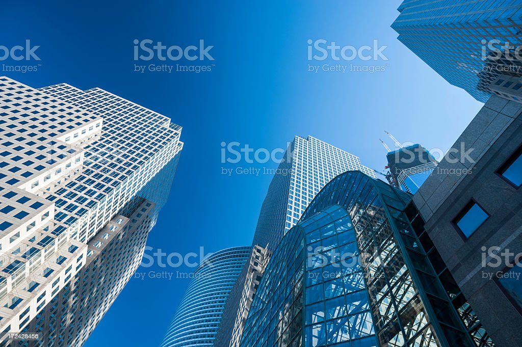World Trade Center architecture royalty-free stock photo