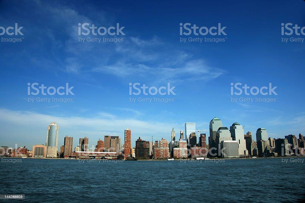 World Trade Center, Manhattan, New York royalty-free stock photo