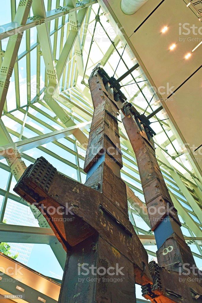 World Trade Center Memorial stock photo