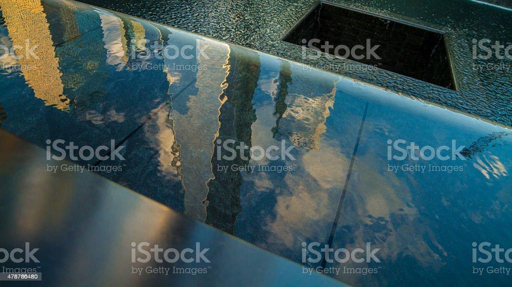 World Trade Center, Memorial południowy Basen Wodospad zbiór zdjęć royalty-free