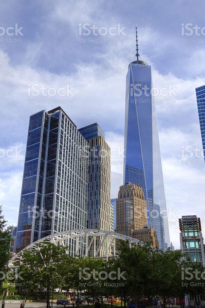 World Trade Center, New York City. royalty-free stock photo