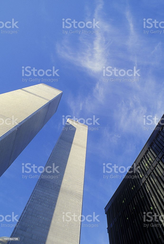 NYC - World Trade Center royalty-free stock photo
