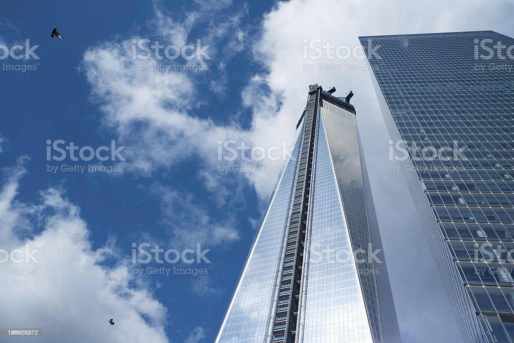 World Trade Center royalty-free stock photo