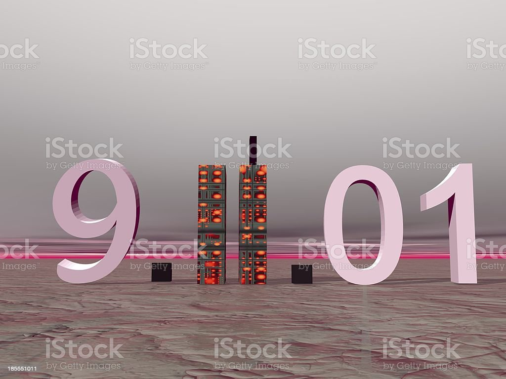 world trade center september 11 stock photo