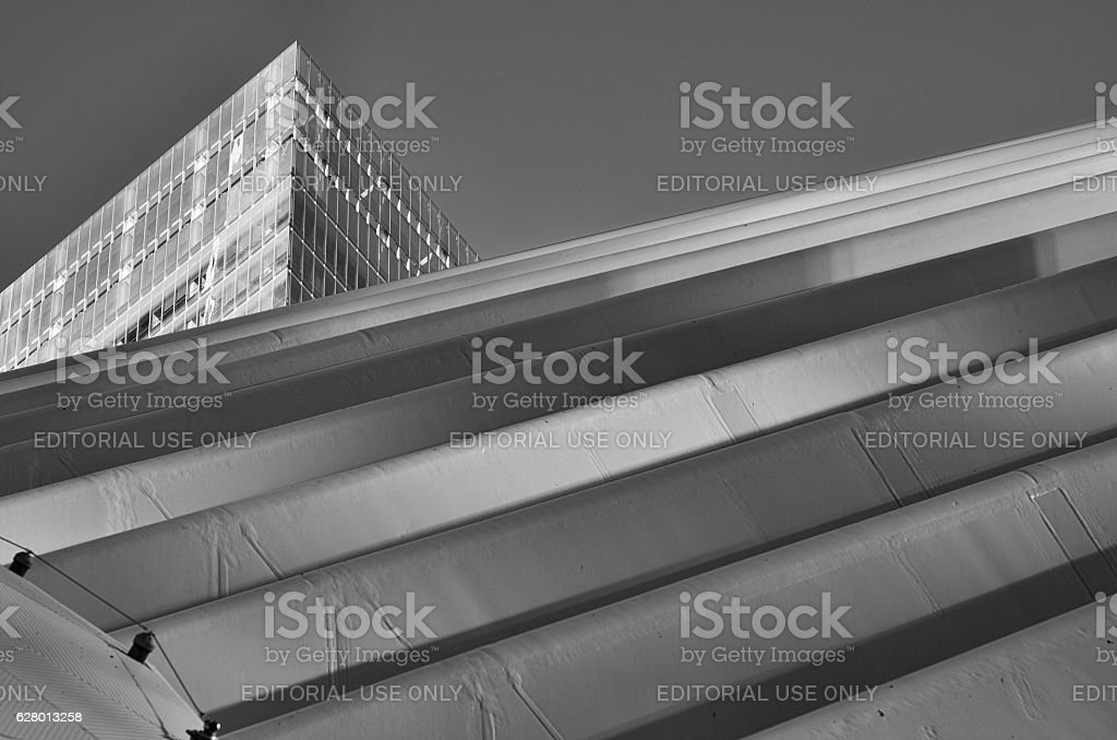World Trade Center Transportation Hub stock photo
