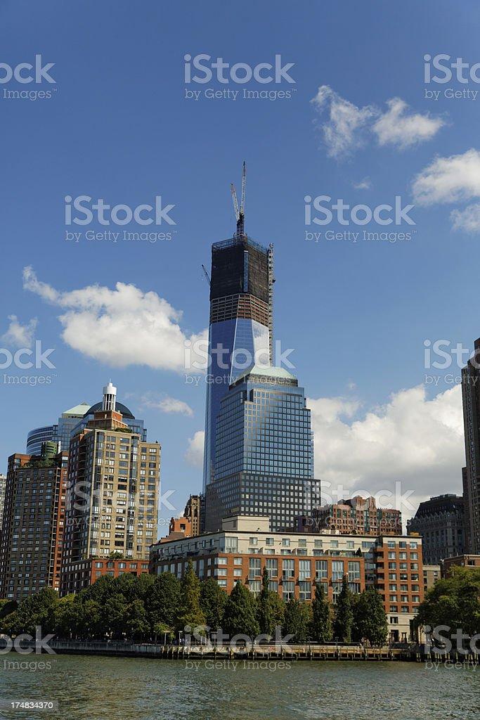 World Trade Center XXXL royalty-free stock photo