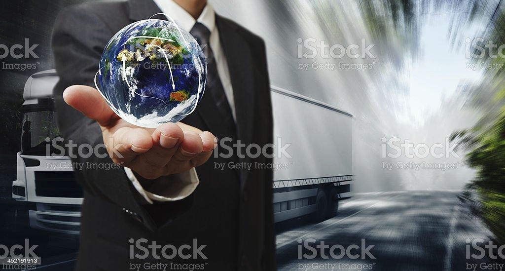 world transportation royalty-free stock photo
