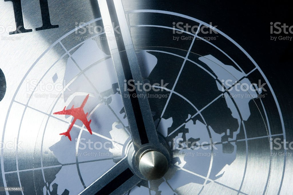 World travel concept stock photo