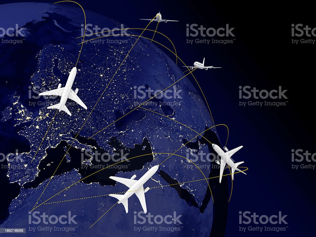 World Travel royalty-free stock photo