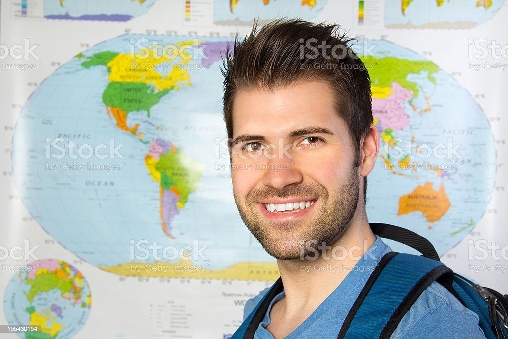 World Traveler royalty-free stock photo