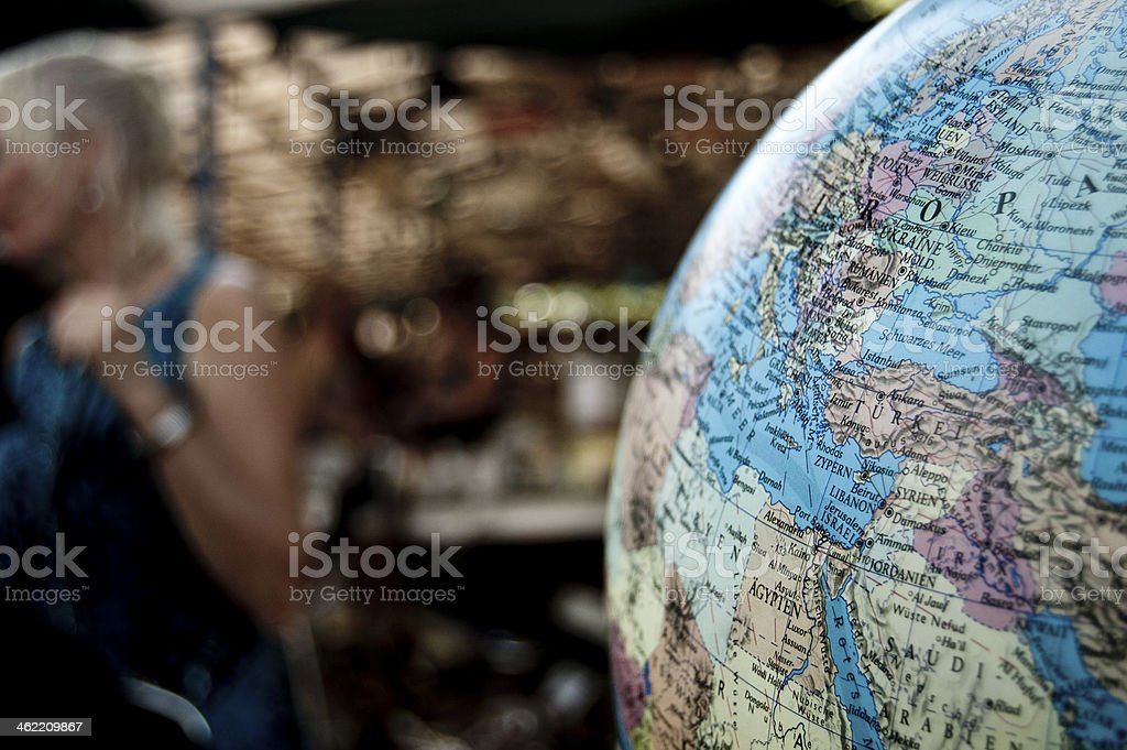 World view today stock photo
