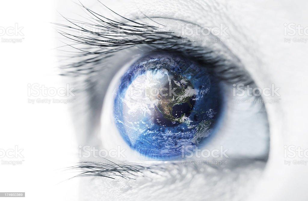 World Views stock photo