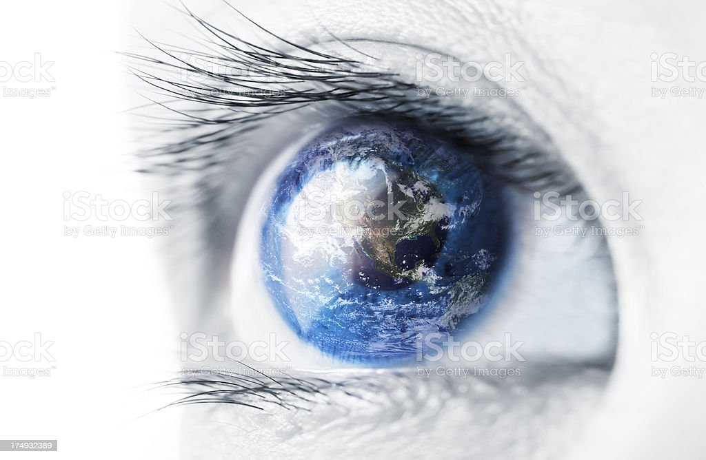 World Views stock photo
