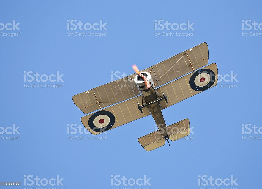 World War 1 aircraft stock photo