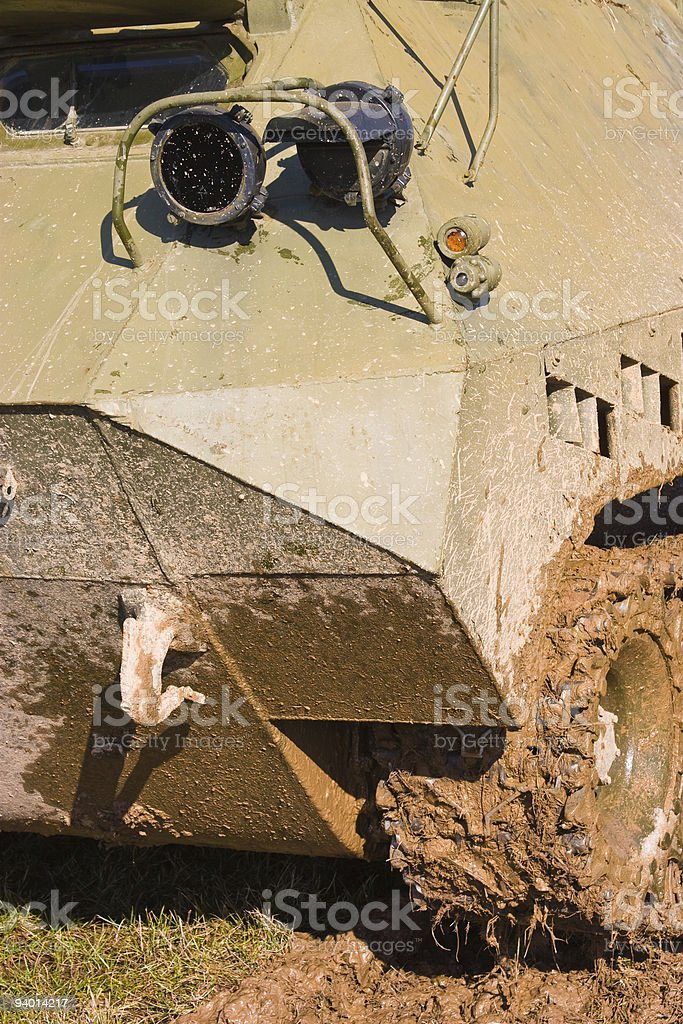 World War 2 - german tank stock photo