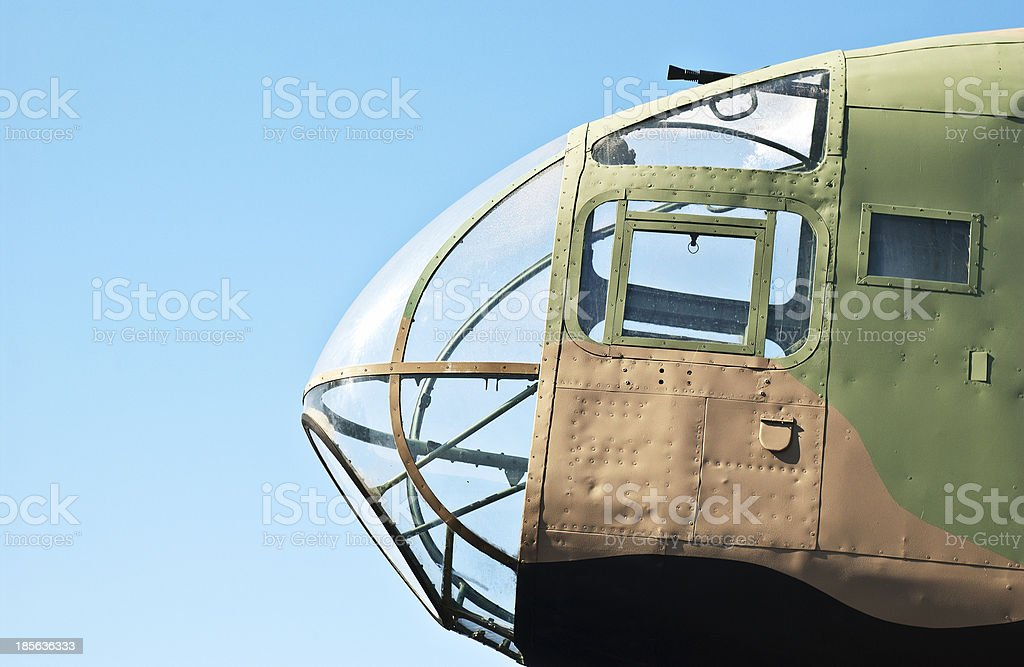 World War 2 Military Aircraft stock photo