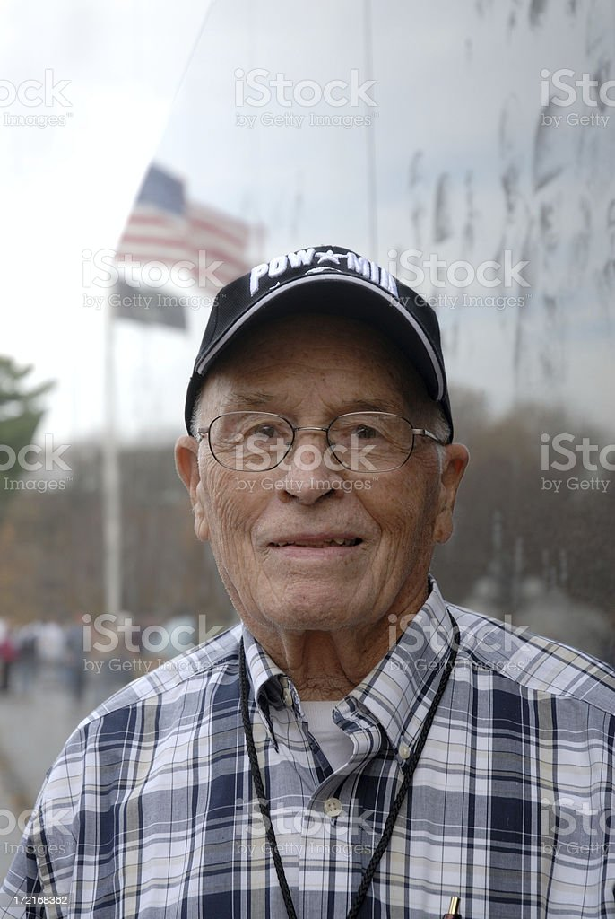 World War II Veteran POW stock photo