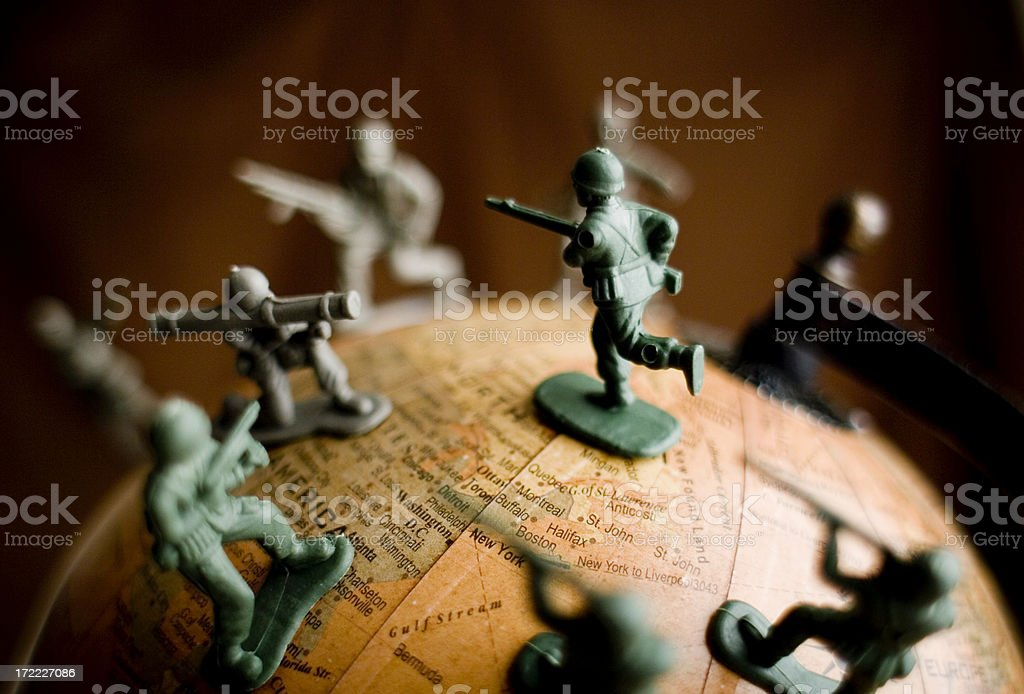 World War III stock photo