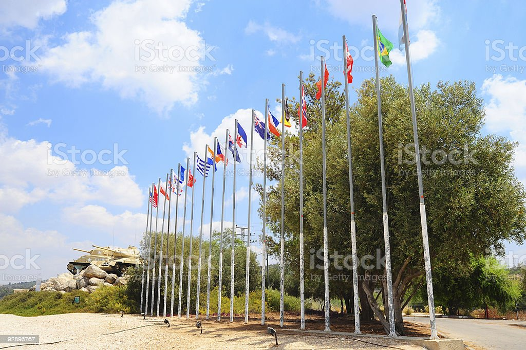 World War Memorial stock photo