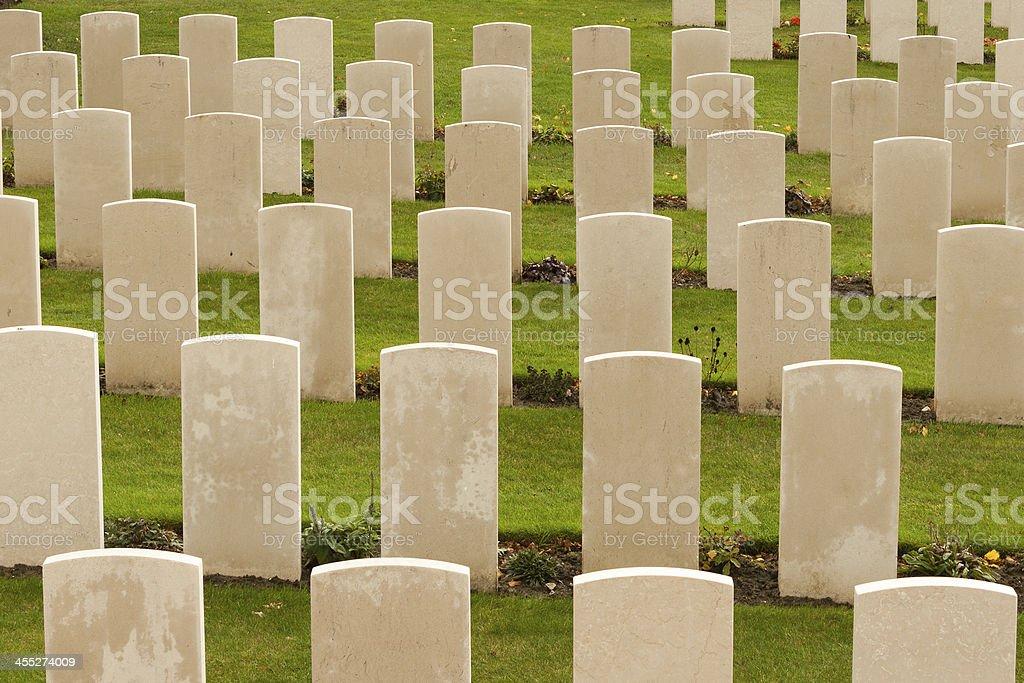 world war one cemetery tyne cot belgium flanders ypres stock photo