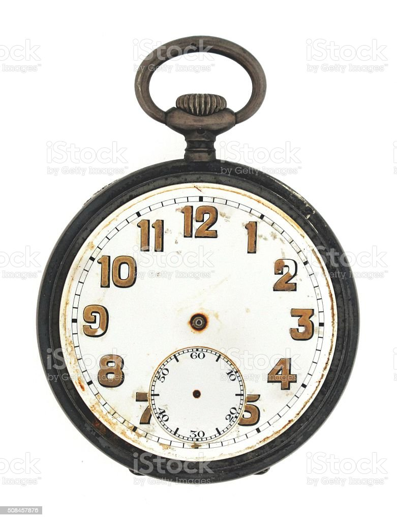 World War One Pocket Watch stock photo