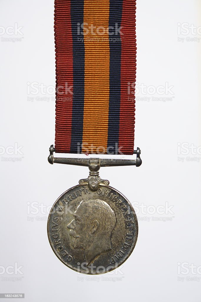World War One Service Medal 2 royalty-free stock photo