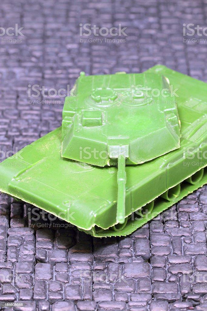 World War Plastic royalty-free stock photo