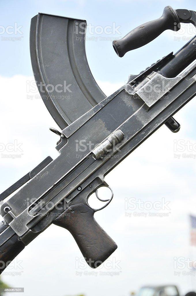 World War Two Bren Gun royalty-free stock photo