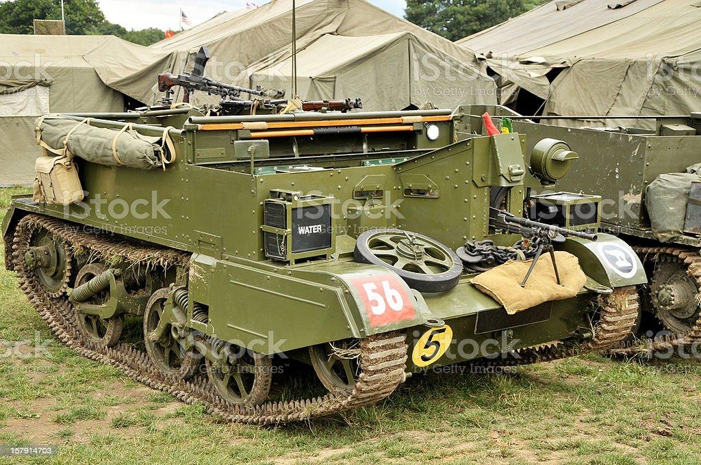 World War Two British Bren Gun Carrier royalty-free stock photo