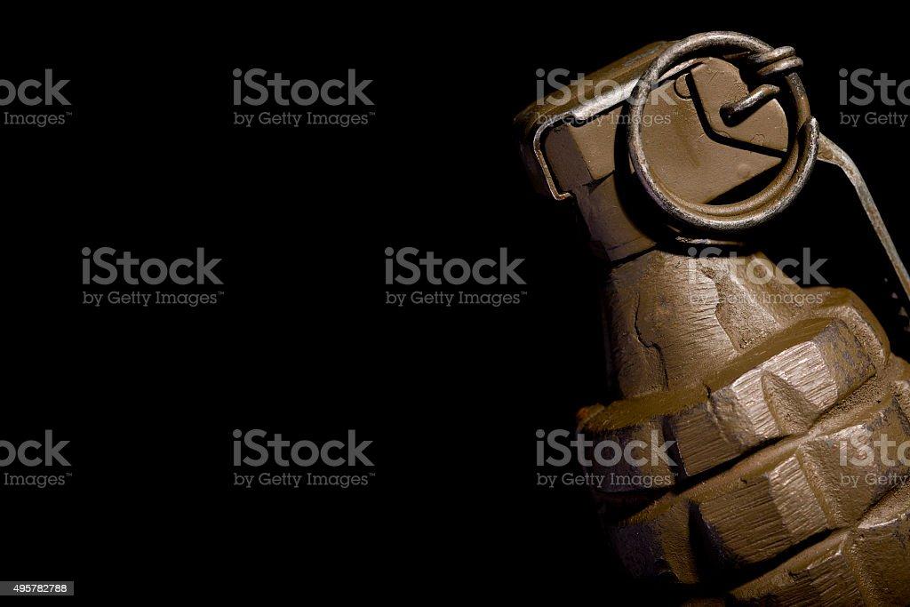 World War Two Hand Grenade stock photo
