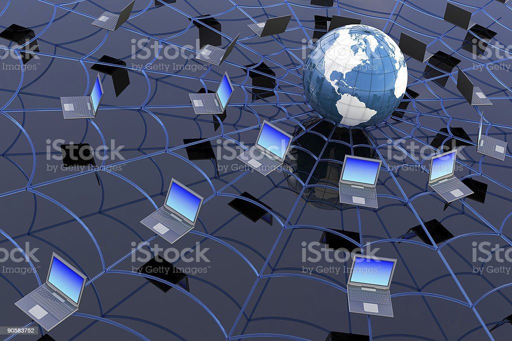 World Wide Web concept royalty-free stock photo