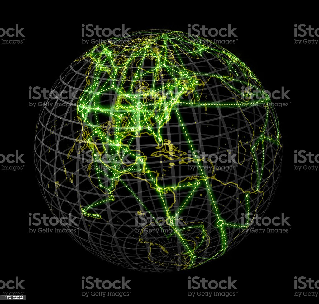 World Wide Web on black royalty-free stock photo