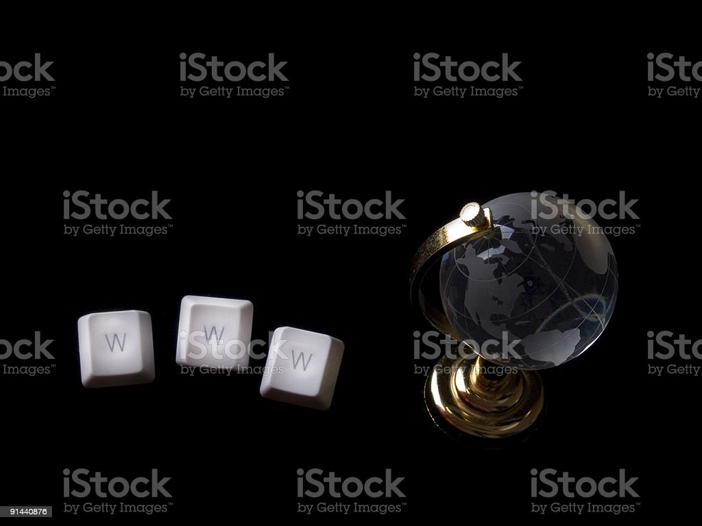 world wide web royalty-free stock photo