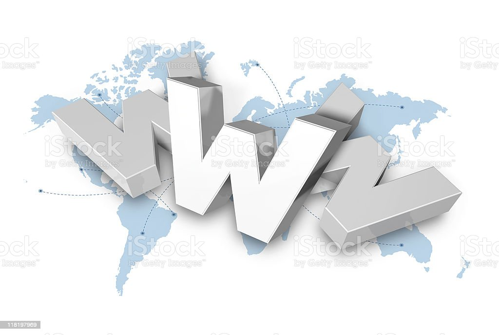 World Wide Web, www royalty-free stock photo