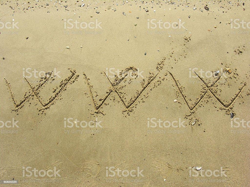 World Wild Beach royalty-free stock photo
