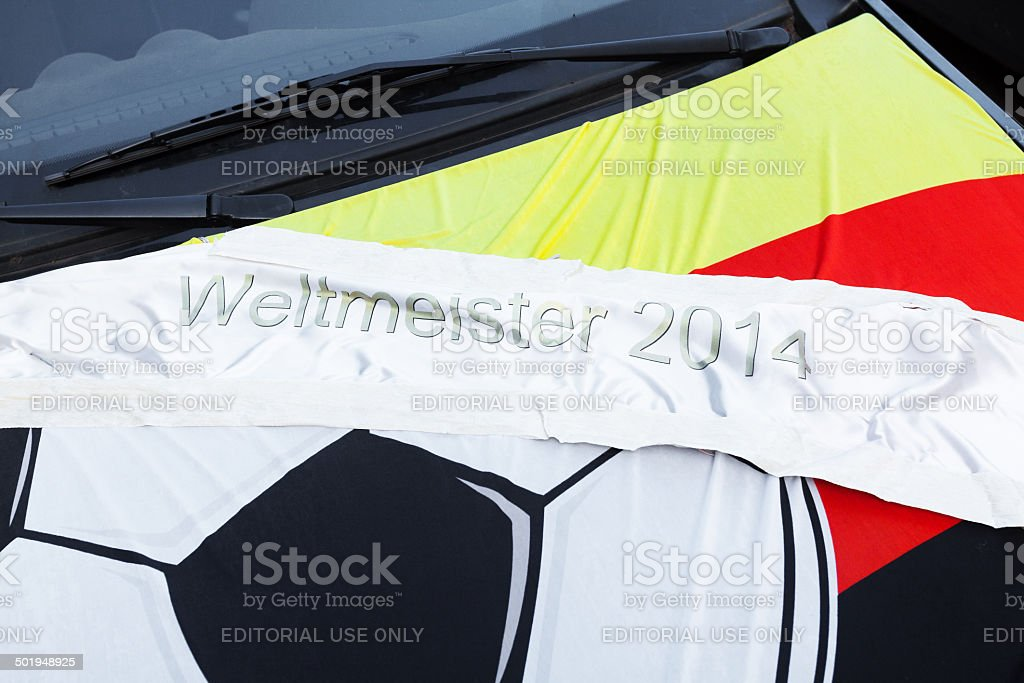 Worldcup champion 2014 stock photo