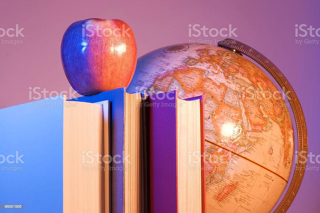 Worldly education stock photo