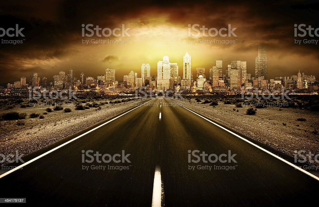 Worlds End stock photo