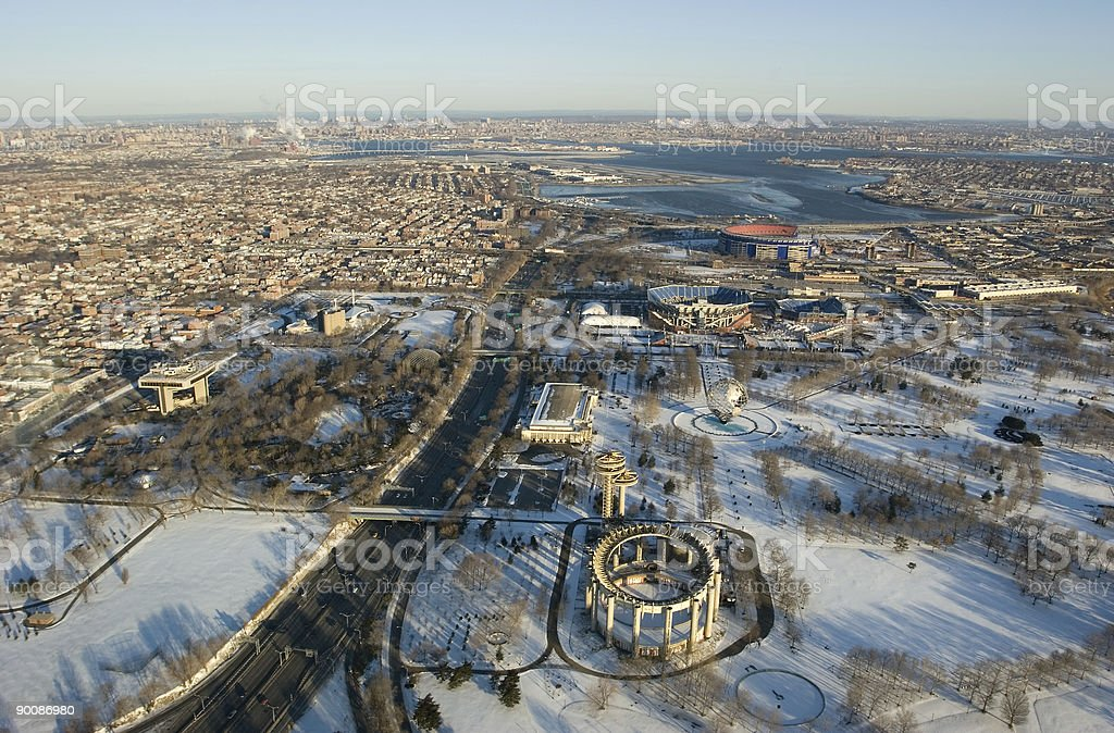 World's Fair Grounds, NYC stock photo