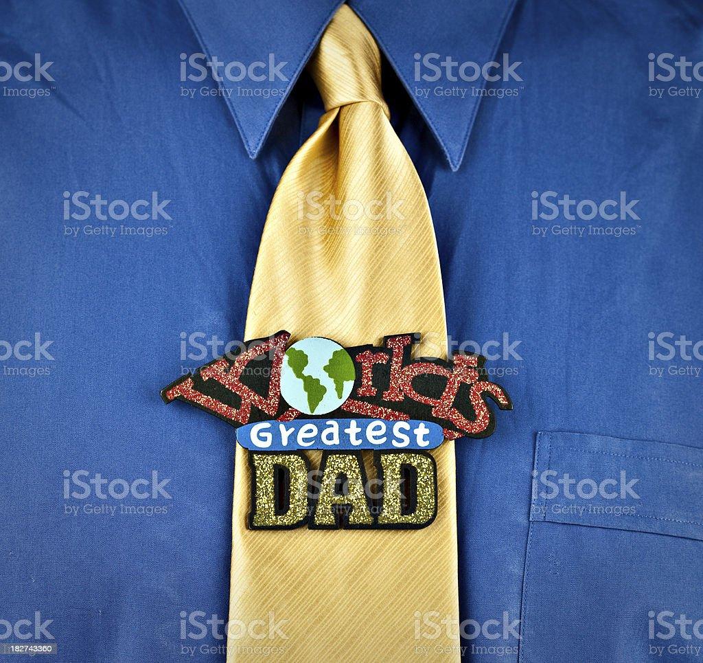 World's Greatest Dad stock photo