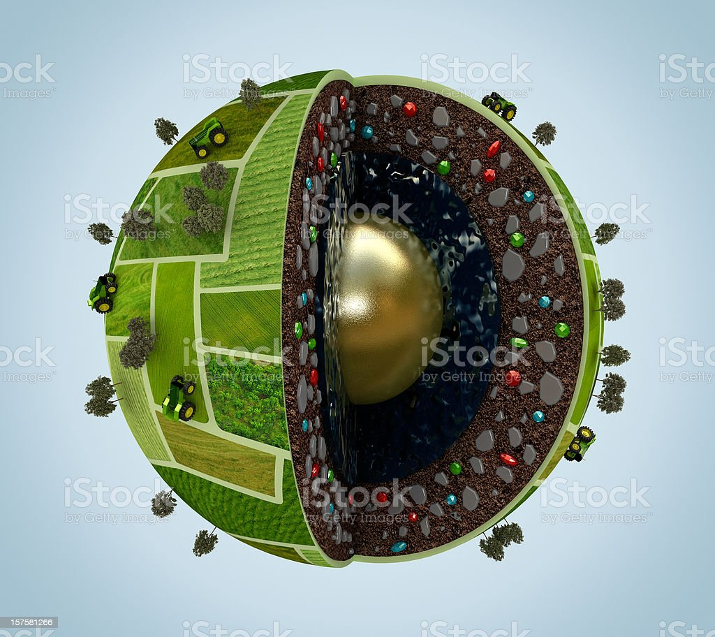 World's natural resources stock photo