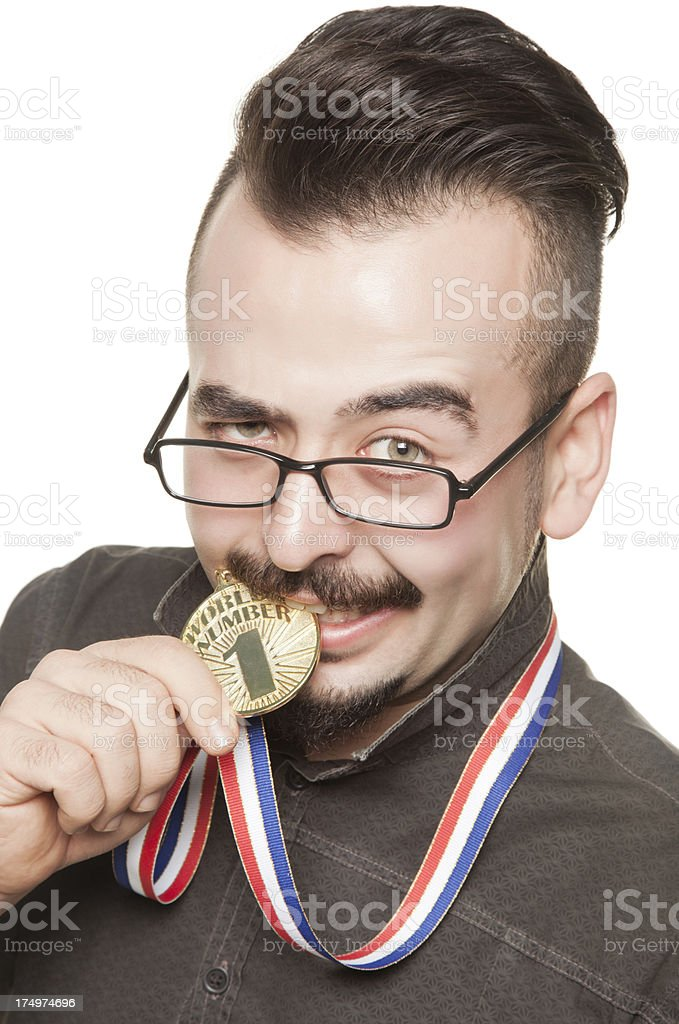 World's Number One royalty-free stock photo