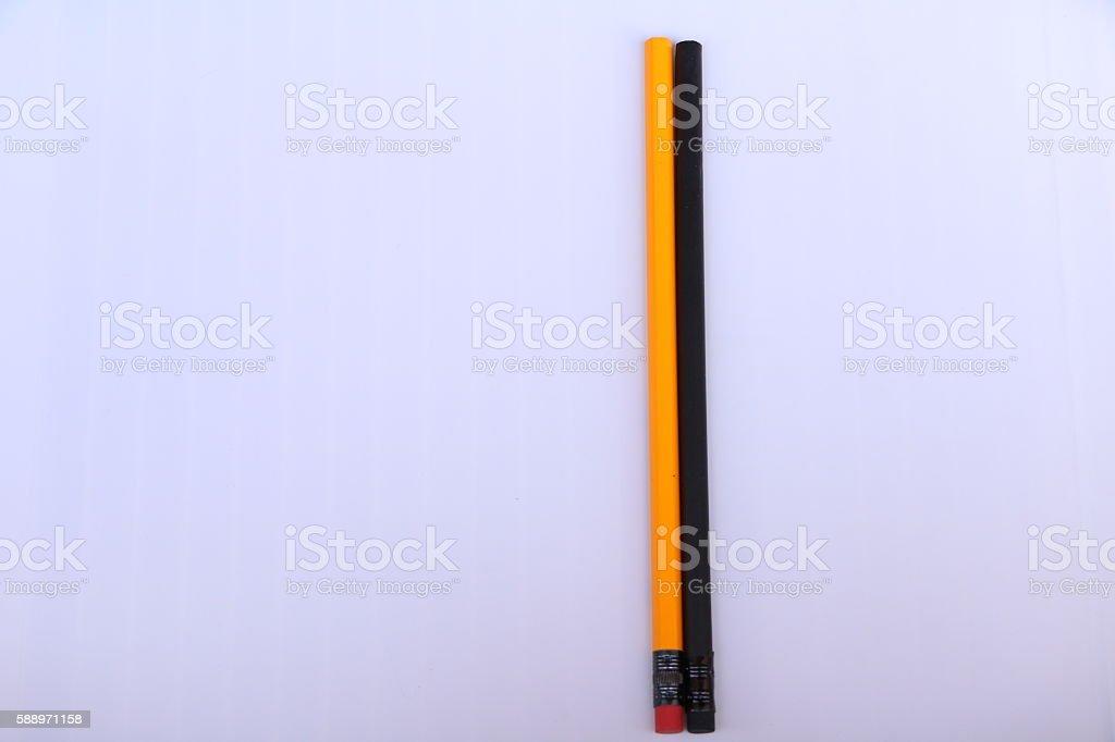 World's pencil stock photo