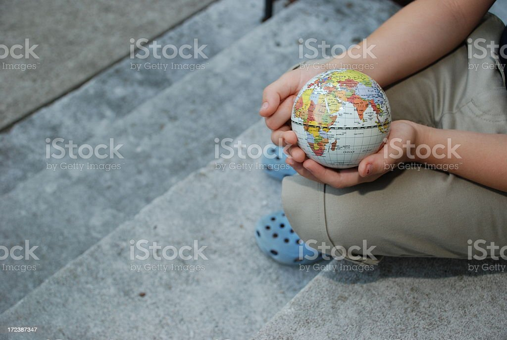 Worldview Of A Child stock photo