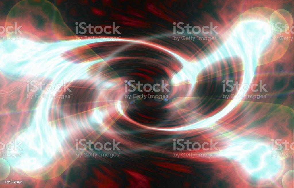 Worm Hole stock photo
