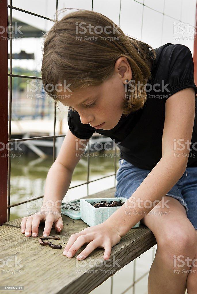 Worms für Angeln Lizenzfreies stock-foto