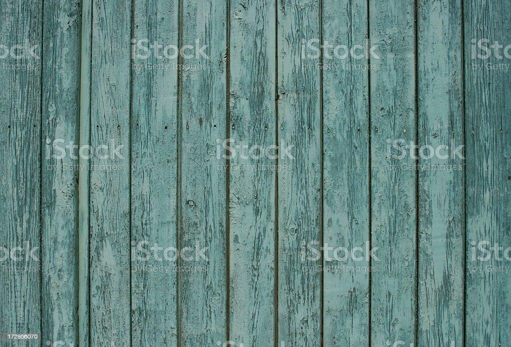 Worn blue wooden textured surface stock photo