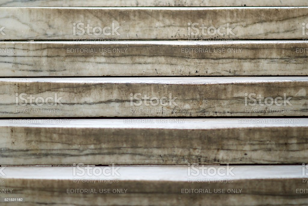 Worn Mable Steps, Tomb of the Unknown Soldier stock photo