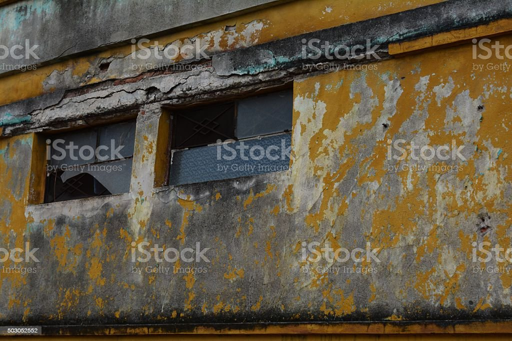 Worn Out Architecture stock photo